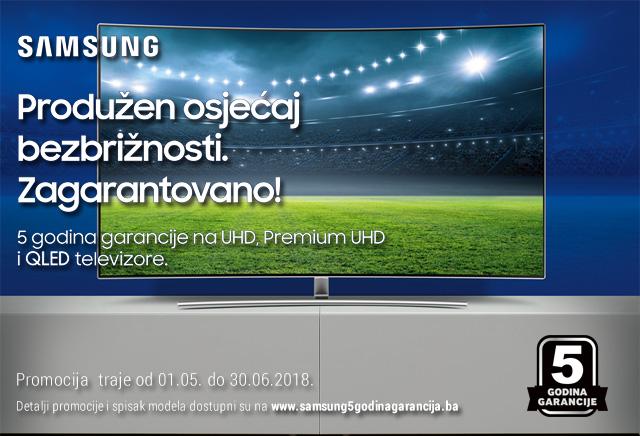 Samsung 5 godina garancije
