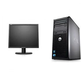 Dell Optiplex 755, C2D 2,66GHz,2GB,160GB Monitor 19