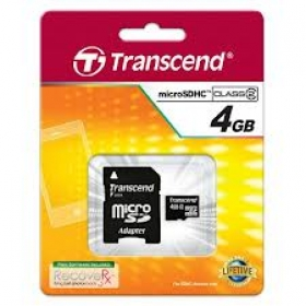 Transcend micro SD 4GB